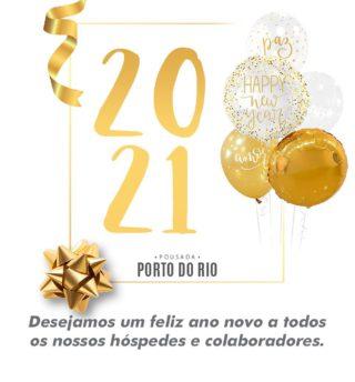 Está chegando!!! Desejamos um super feliz ano novo a todos os nossos hóspedes e colaboradores! 😃😃🎆🎆 vem 2021!!! #pousadaportodorio #happynewyear #2021
