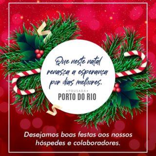 🎄ho-ho-ho! Esse é o nosso desejo para todos os nossos hóspedes e colaboradores! 💙🎅🏻 Feliz Natal! #pousadaportodorio  #caraguatatuba #natal